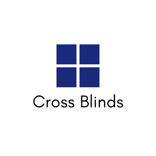 cross window blinds logo